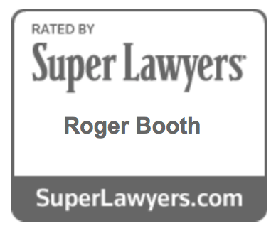 Roger Booth on Super Lawyers